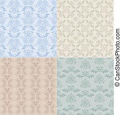 Seamless patterns - set
