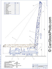 Machine-building drawing. A-50