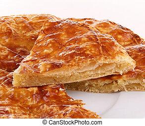 epiphany cake - almon pastry,epiphany cake