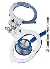 cuffs and stethoscope