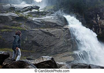krimmel waterfalls in austria
