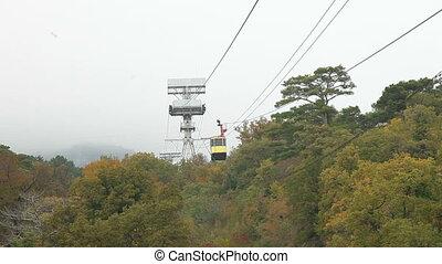 Mountain Cable Car Ai-Petri, Crimea, Ukraine