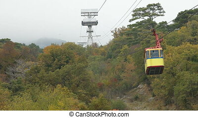 Mountain Cable Car Ai-Petri, Crimea, Ukraine