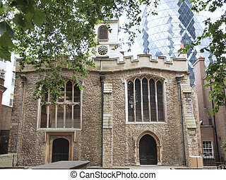 St Andrew Undershaft - Church of St Andrew Undershaft,...