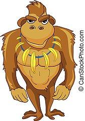 Cartoon Character Monkey