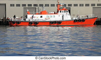Pilot Boat - Boat that transports the boat pilots