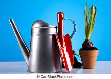 Garden background - Assorted gardening