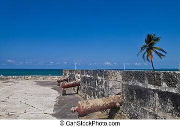 San Felipe de Barajas castle - San Felipe de Barajas casle...