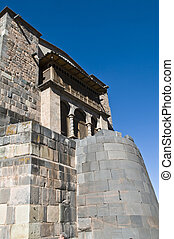 "Cusco church of Santo Domingo - The ""Santo Domingo"" church..."
