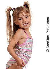 Girl wearing swimsuit