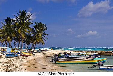 San Andres Island , Colombia - San Andres , Colombia -...