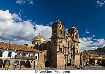 "Cusco Cathedral - The cathadral in ""Plaza de armas"" in the..."