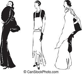 Women's evening wear