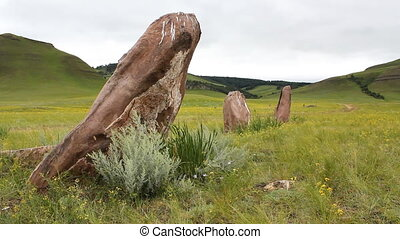 Stones 24 - The great stone circle.