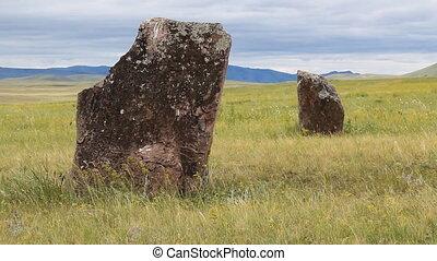 Stones 40 - Standing stones.