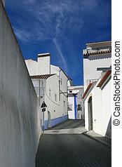 vista, aldea, Arraiolos, portugal
