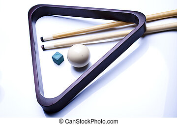 Snooker player - Billiard game