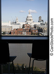 St Paul's Cathedral seen from Tate Modern - St Paul's...