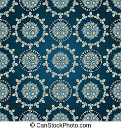vector seamless eastern pattern