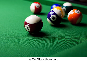 Billiards pool - Billiard game