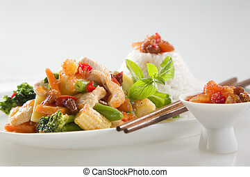 Chicken Stir fry - Asian Chicken Stir Fry