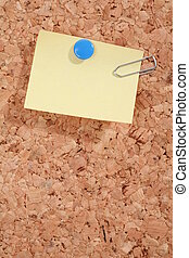 Pinboard - a pinboard with thumtacks on it...........