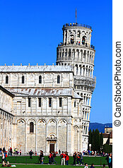 Leaning Pisa Tower - Leaning Tower of Pis