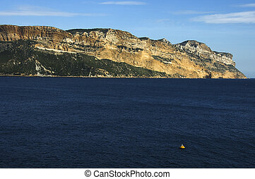 Cape Canaille near Cassis, France - Cape Canaille and...