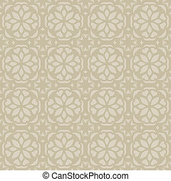 Seamless elegant calm pattern