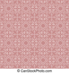 Gentle elegant seamless pattern
