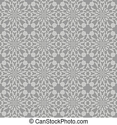 Elegant grey seamless pattern