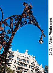 La Pedrera (Casa Mila) in Barcelona