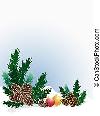 pine cone background - an illustration of an arrangement of...