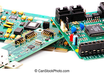 Image of computer hardware and components - Image of...