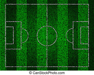 soccer striped field for your design. Vector illustration. Best Choice