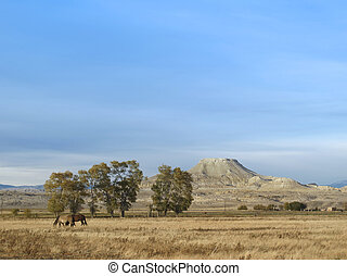 Crowheart Butte in Wyoming - Crowheart Butte is a famous and...
