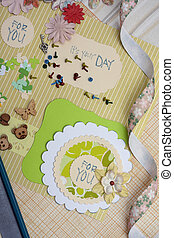 scrapbooking 615jpg - hand made scrapbooking post card and...