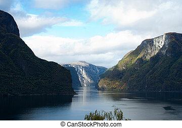 norwegian fjord 56jpg - view of beautiful norwegian fjord...