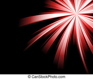 Abstract red technology background.