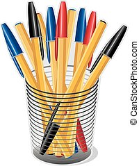 Ballpoint Pens - Ballpoint ink pens for home, office, back...