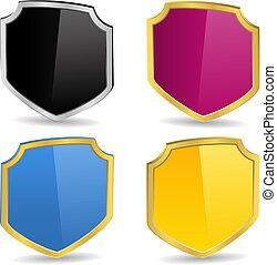 Vector 3D Shields