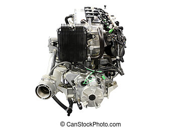 boat engine front view