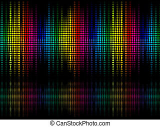 abstract colorful rainbow sparkle dots background vector...