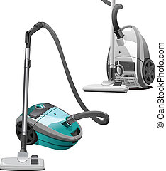 vacuum cleaner - A Vector eps 8 illustration of the vacuum...