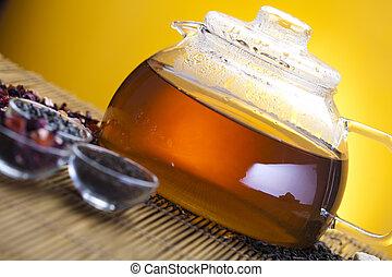 Cup of tea with teapot - Tea