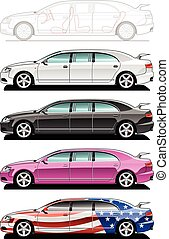 limousine - limousine - part of my collections of Car body...