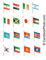 Flag icon set (part 6)
