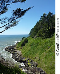 Oregon, kust