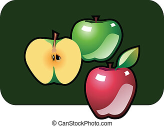 Icon of apples