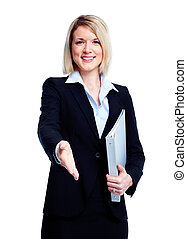 Professional business woman - Executive business woman...